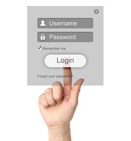 Valid website credentials