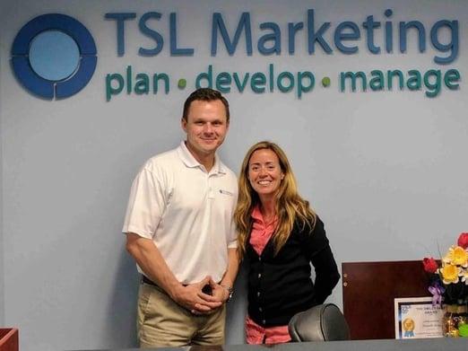 TSL employees Brian Shilling and Britt Hansson