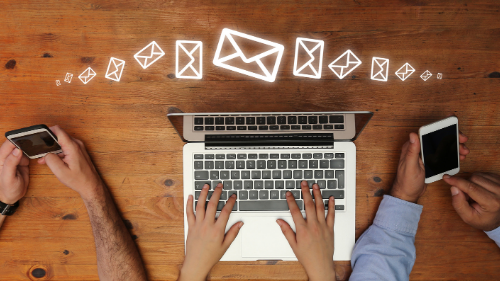 Building email relationships
