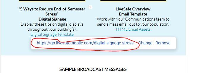 livesafe google doc template - link