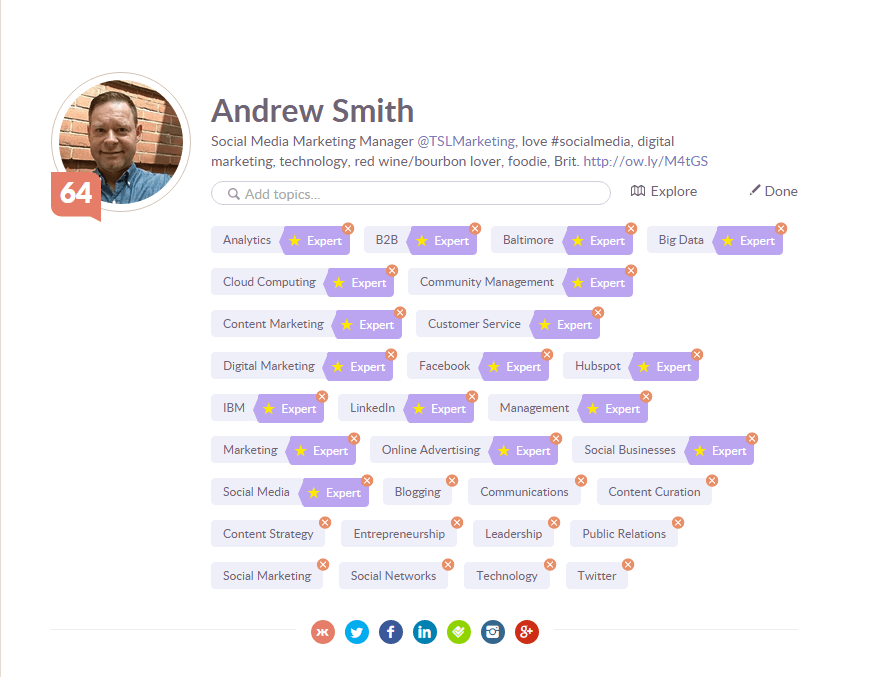 klout