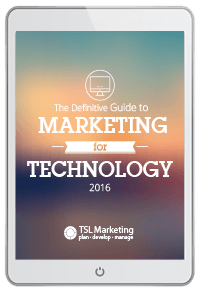 Guide to Marketing for IT Technology 2016