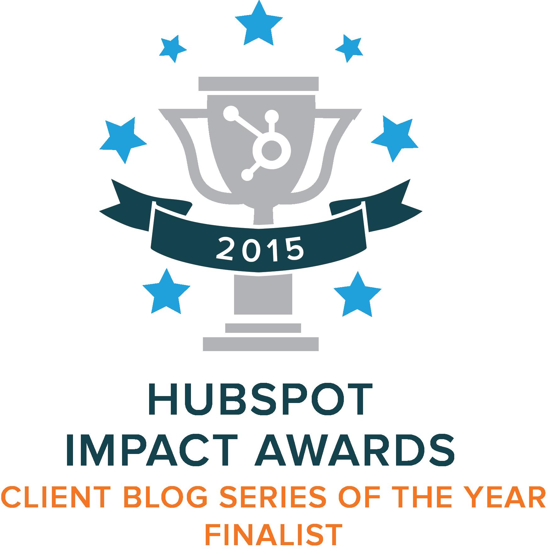 Hubspot's Impact Awards Finalist