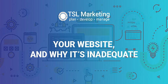 your website and why its inadequate-featured image