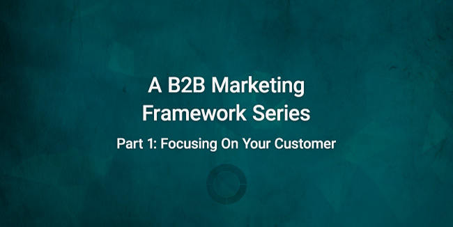 introduction image reading a b2b marketing framework series