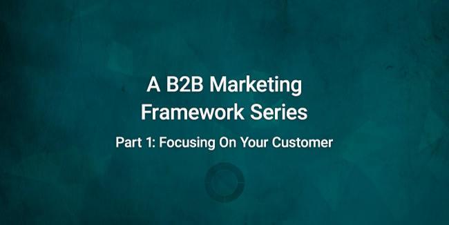 introduction image reading a b2b marketing framework series