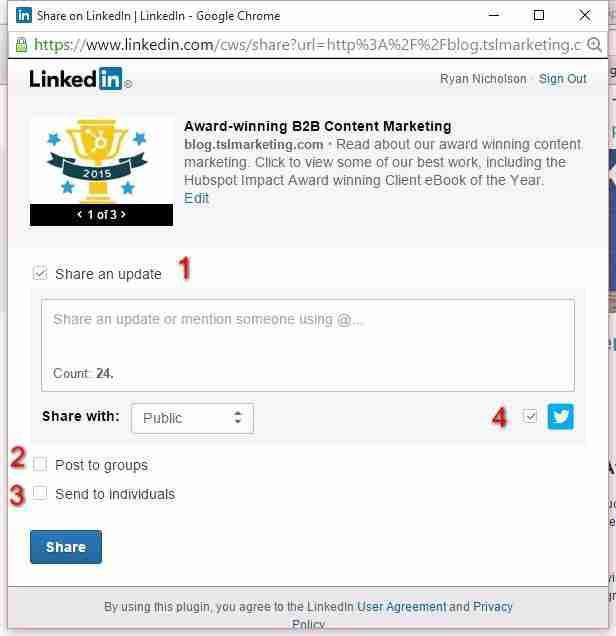 linkedin-sharing-screen-options