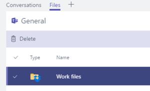 Teams Cloud Storage