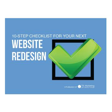 10 step website Redesign checklist